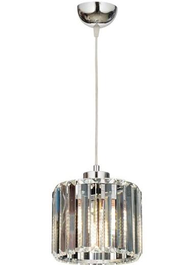 Avonni Avonni Av-65239-1K E27 Metal Kristal 19 Cm Krom Kaplama Modern Avize Renkli
